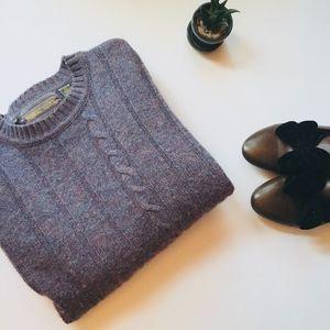 Vintage 100% wool oversize sweater